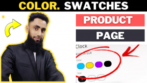 How To Create Color Swatches for Product Variants in Shopify (Dawn Theme)